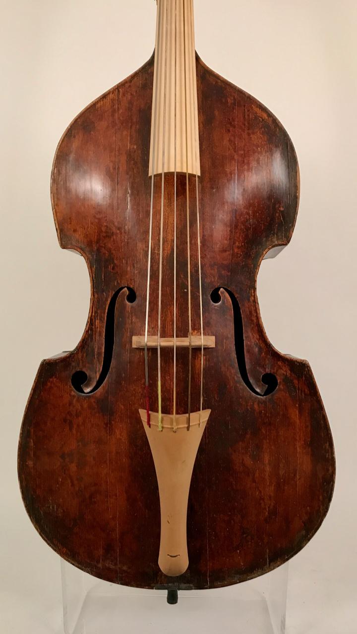 Nr. 184 Barock-Bass 5-Saiter, Dt. Schule